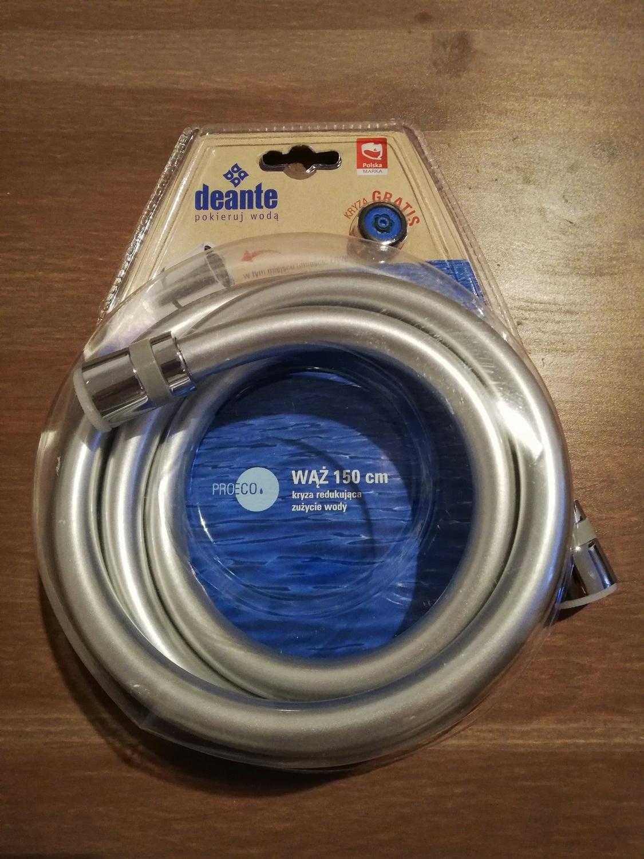 Wąż prysznicowy DEANTE NDA 351W 150cm srebrny