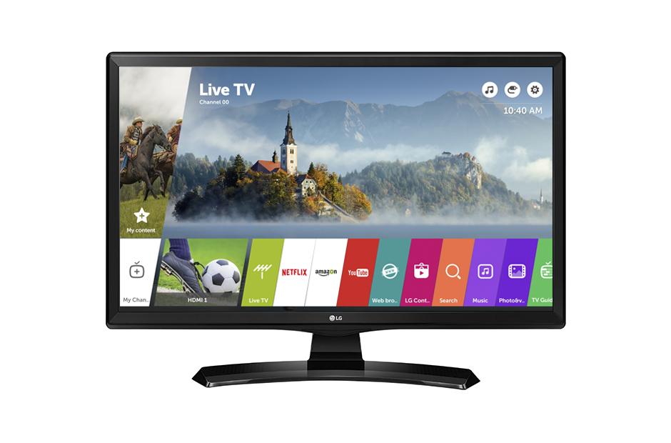 TV + MONITOR LG LED 28MT49S HD SMART WIFI IPS FV