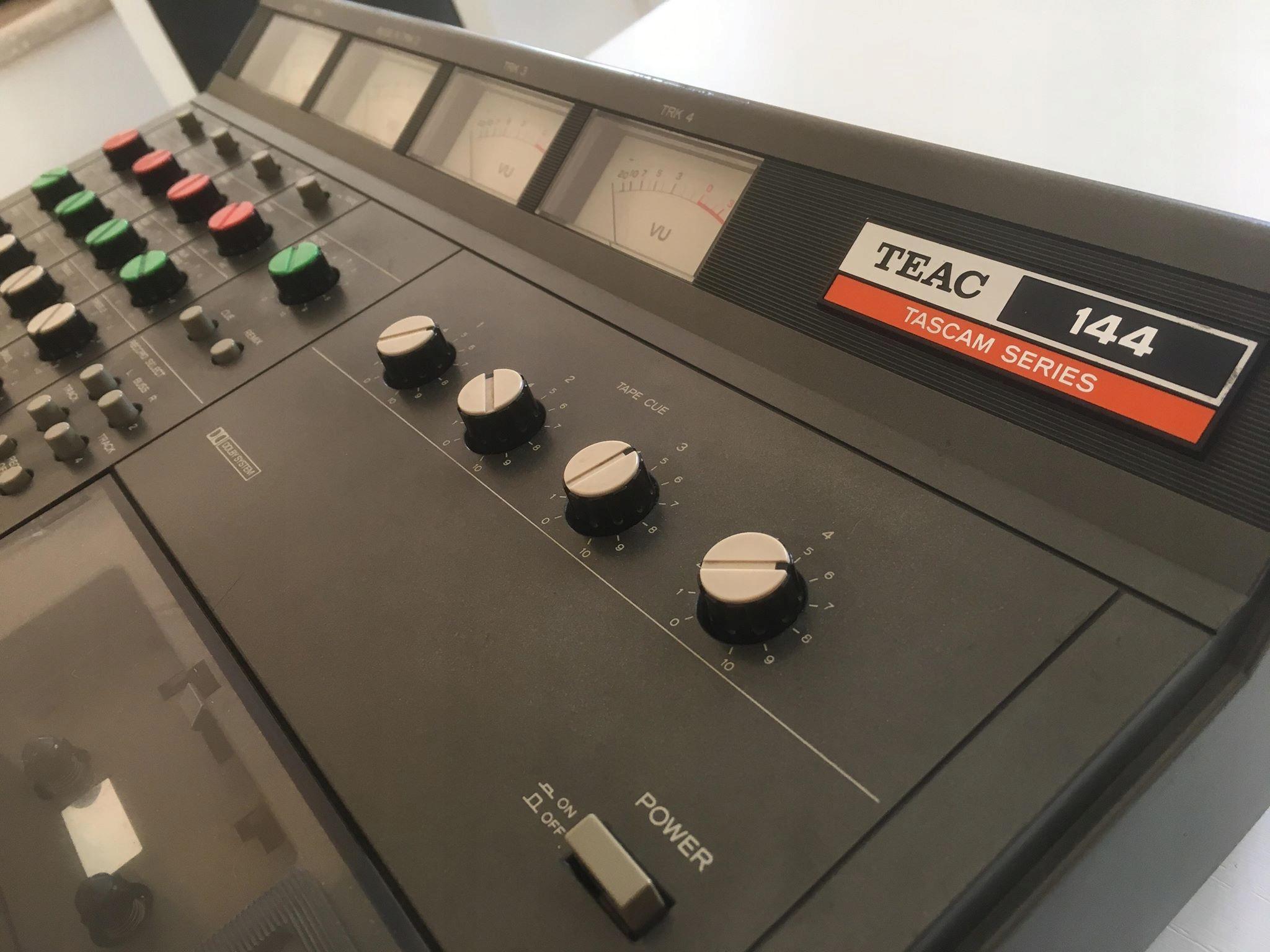 TEAC 144 Portastudio 4 track recorder