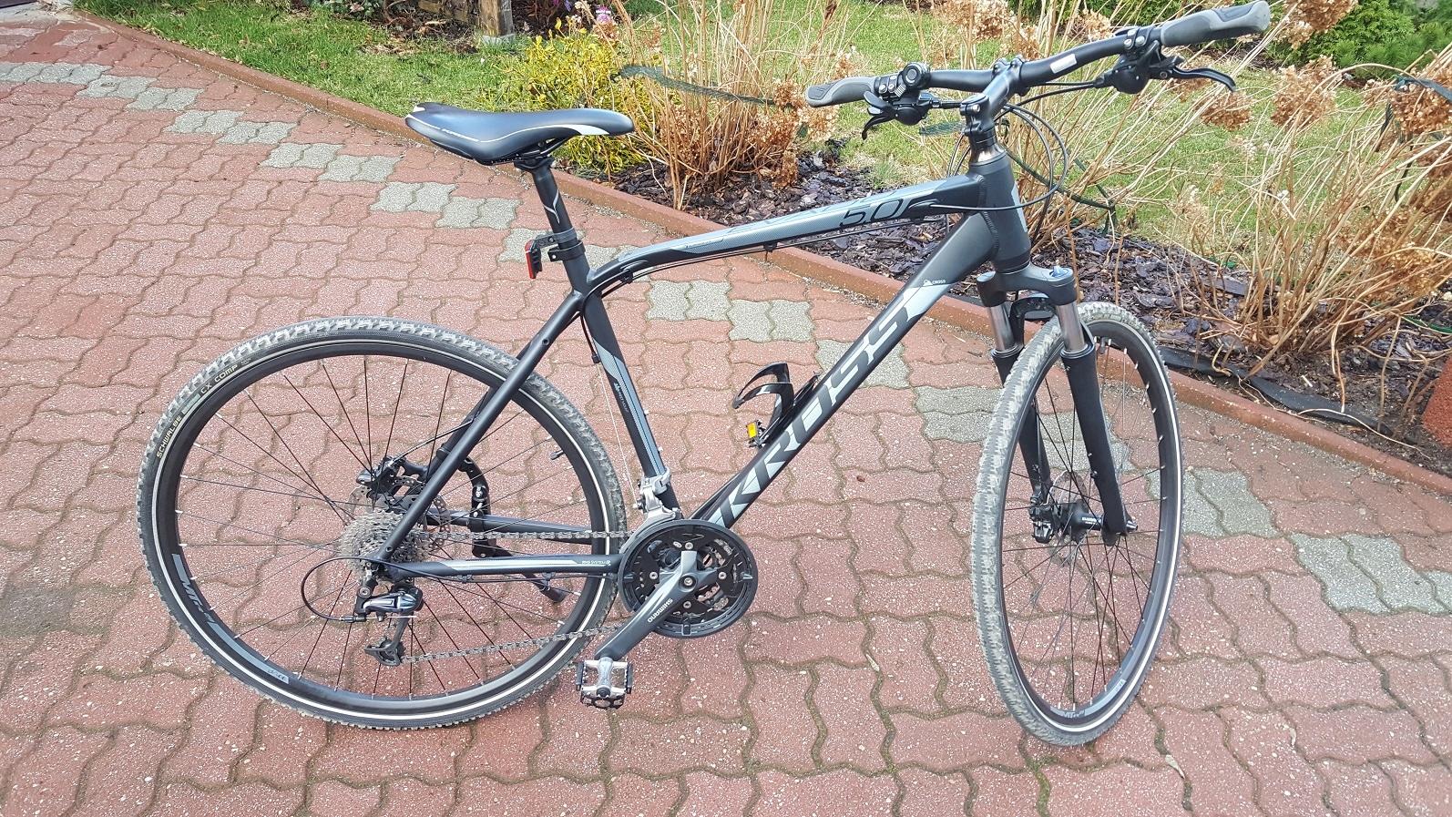 Rower cross/treking Kross Evado 5.0 rozmiar L 21''