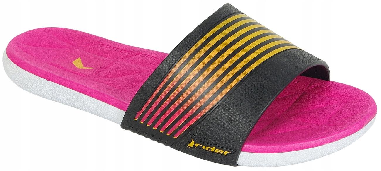 Rider Resort klapki Fem white/black/pink 37