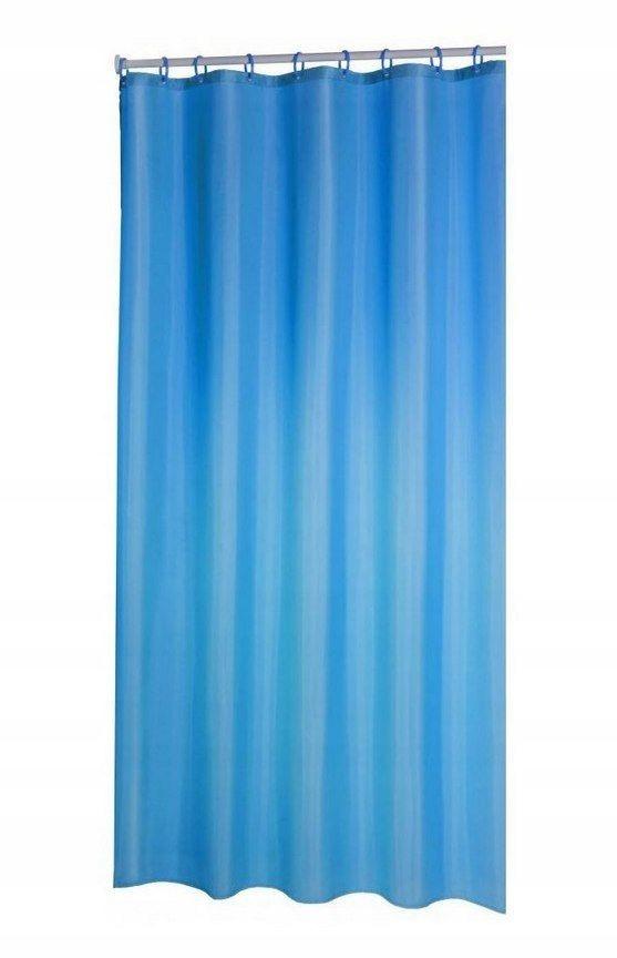 Zasłona prysznicowa MARINE 200 180 cm granat polie