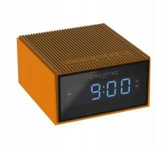 Creative Chrono głośnik bluetooth radio budzik żół