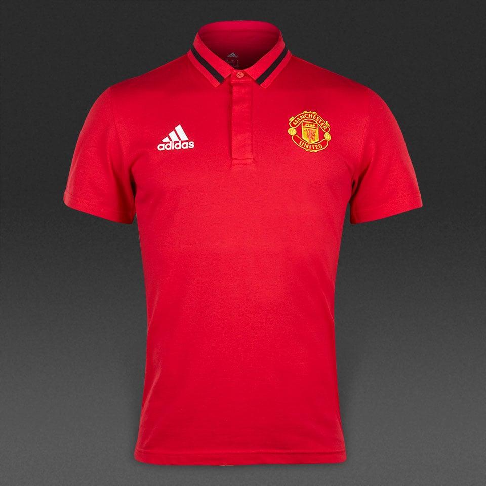 najlepsza cena odebrać tak tanio Koszulka Polo Adidas Manchester United czerwone L
