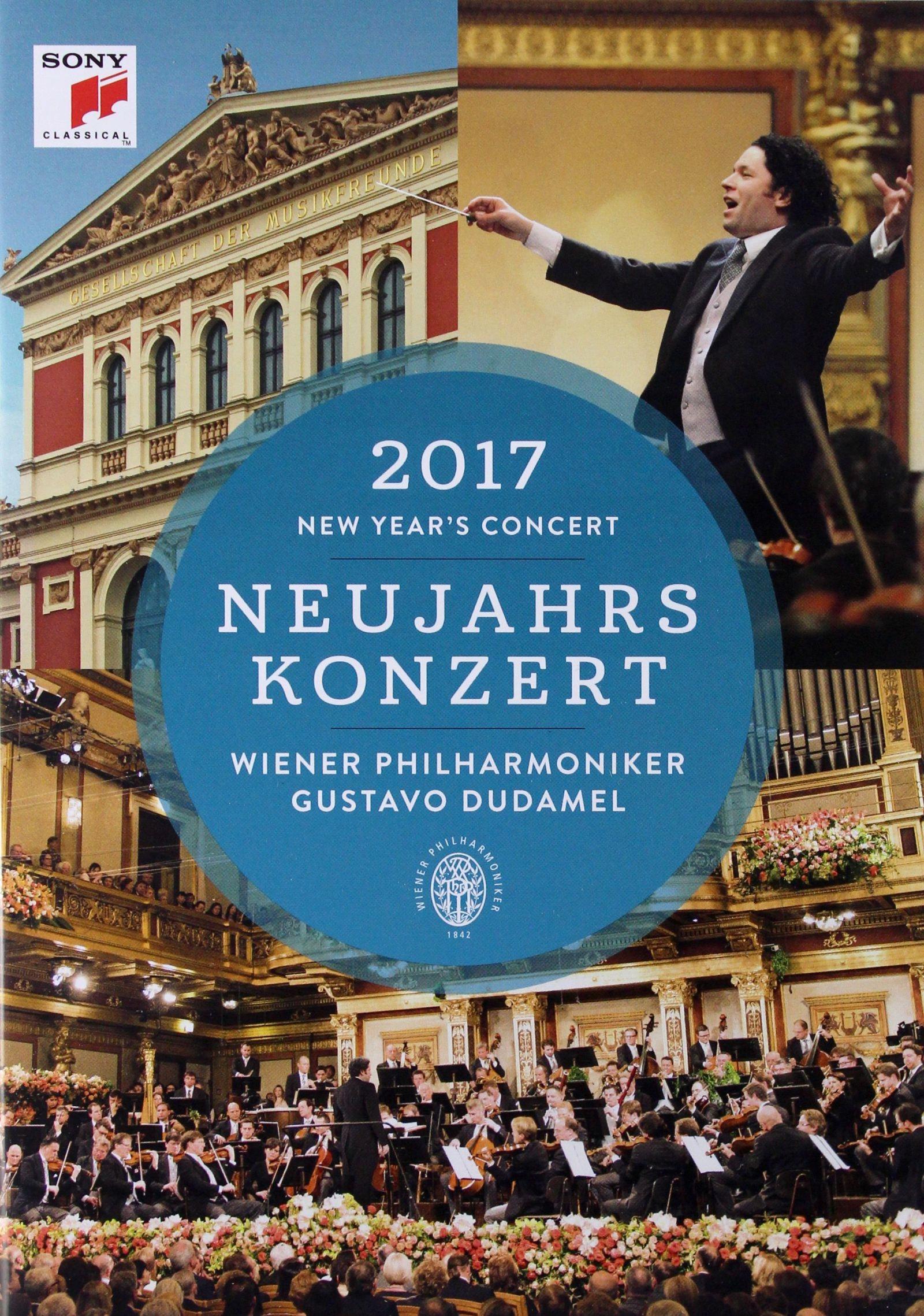 GUSTAVO DUDAMEL+WIENER PHIL: NEUJAHRSKONZERT 2017