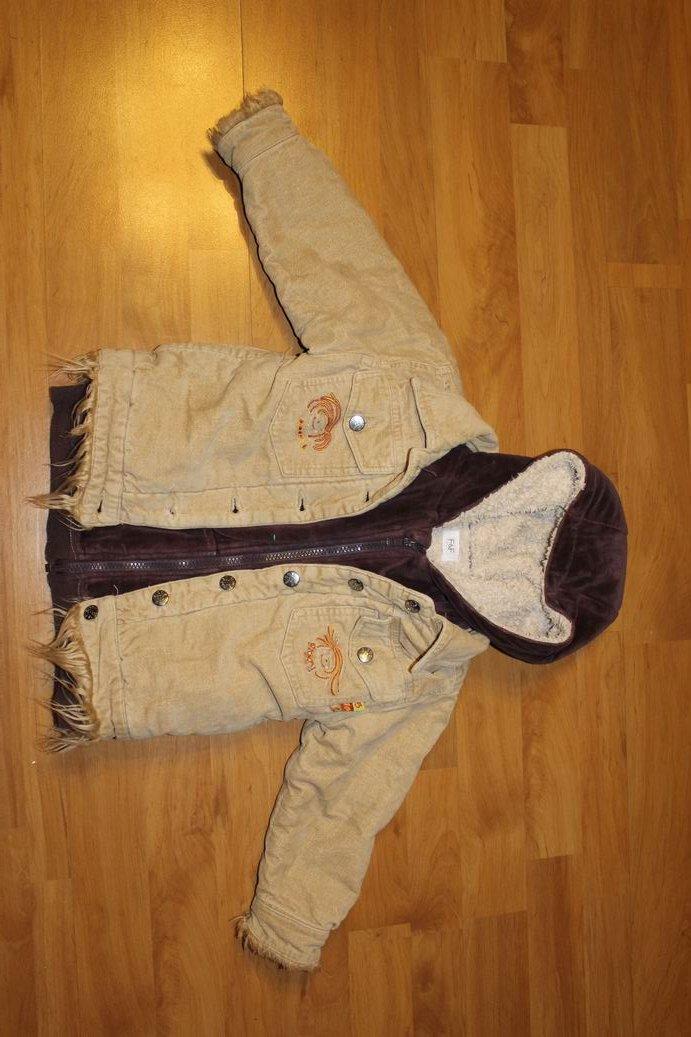 kurtka wiosna/jesień + ocieplana bluza 104