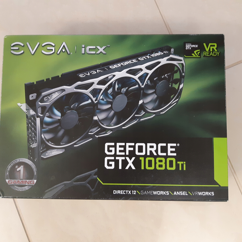 EVGA GTX 1080 Ti FTW3 Gaming 11GB