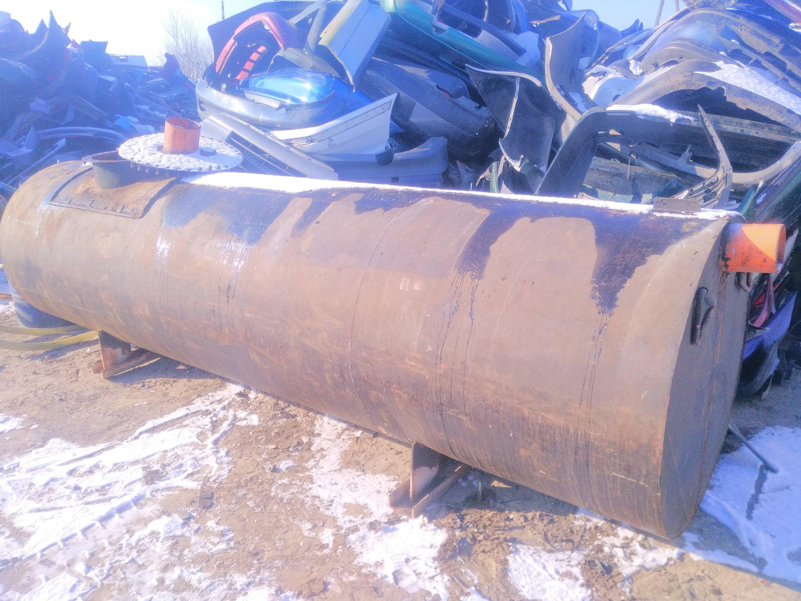 Zbiornik metalowy 5000L na szambo, wodę deszczówkę