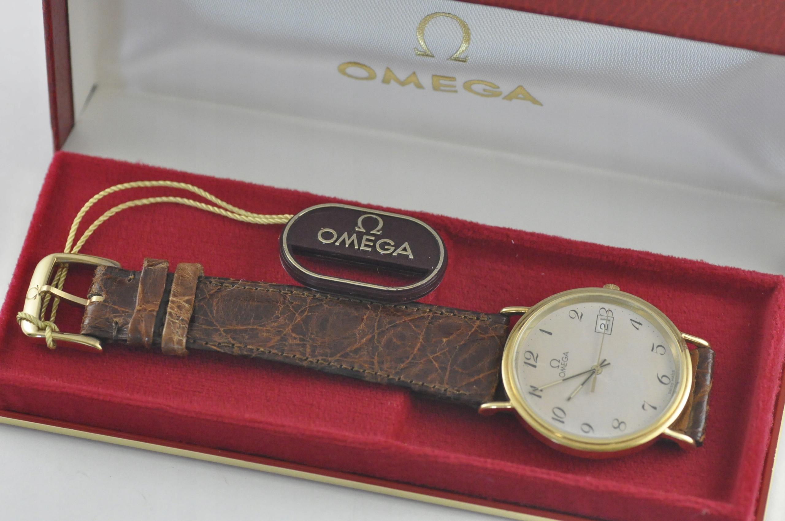 Nowa Omega Złoto 18 karat 0.750 damski/męski