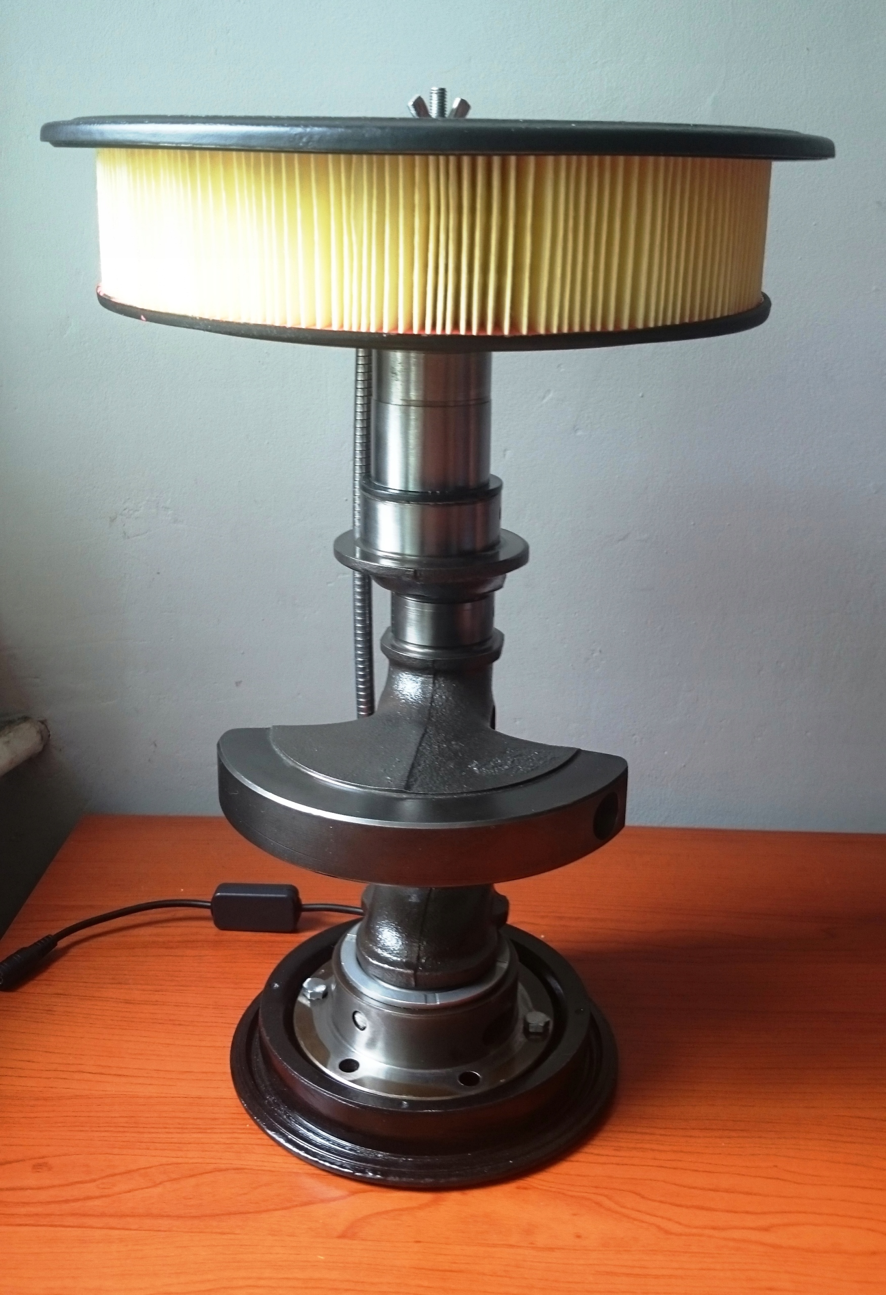 Lampka na biurko fiat 126p maluch FSO