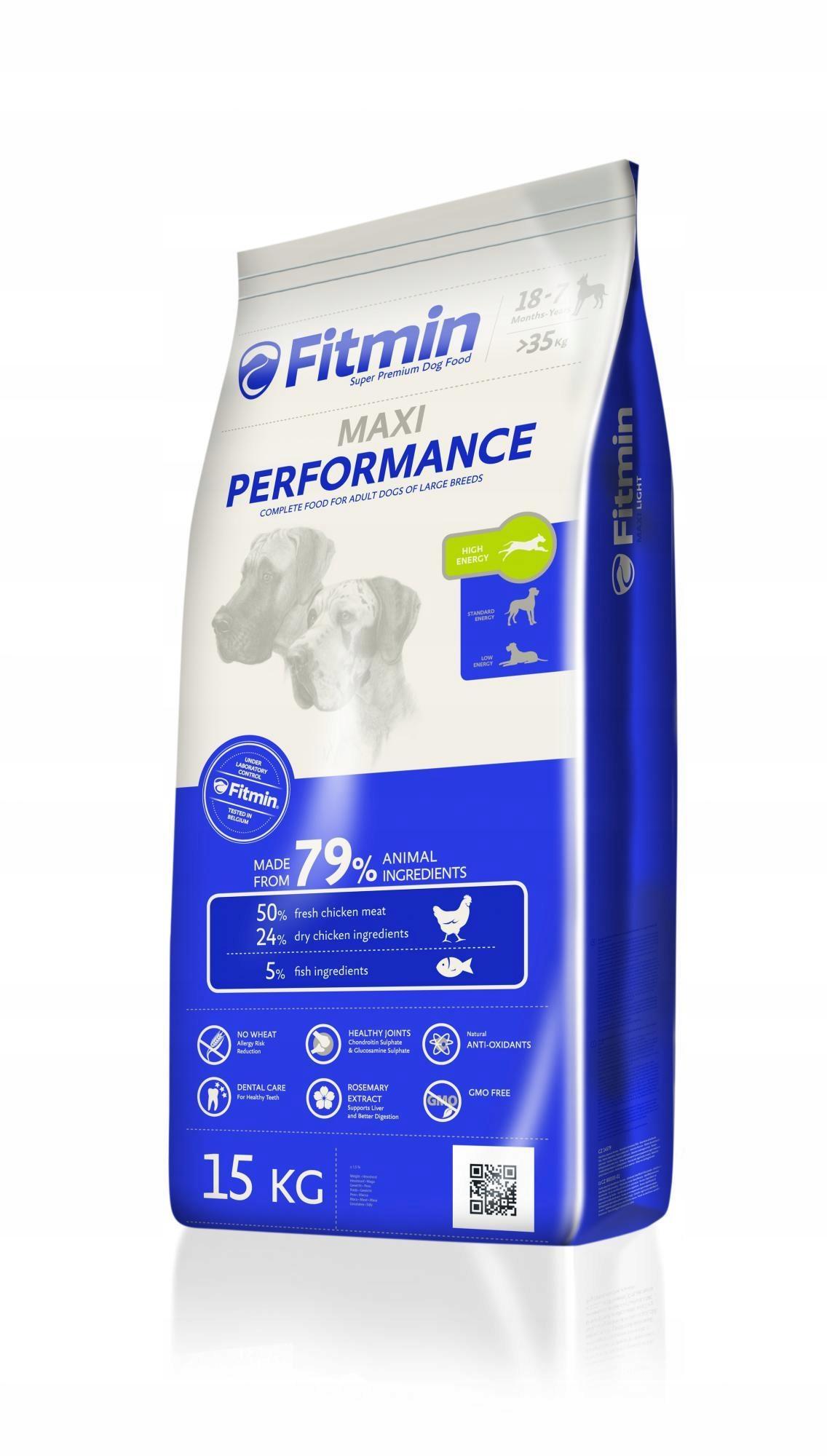 Karma Fitmin dog maxi performance - 15kg
