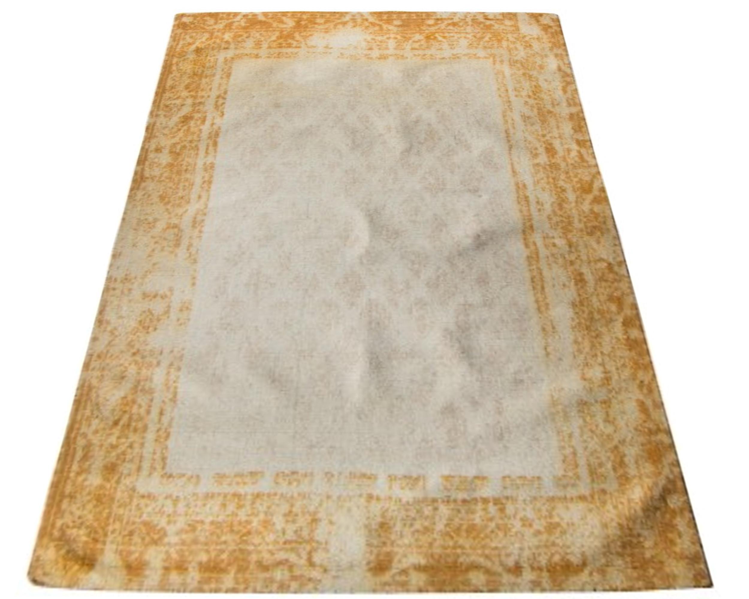 Ekskluzywny Dywan 150x240 Vintage Gold Wełniany 7160391882
