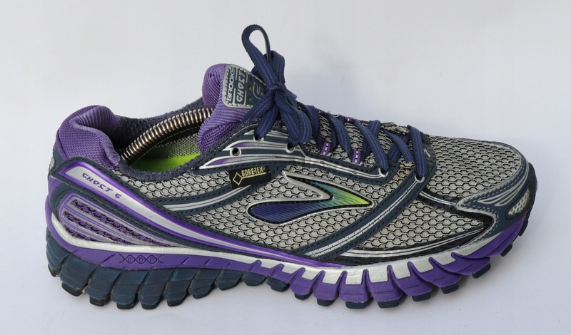 Brooks Adrenaline GTS 20 D Wide Black Purple Women Running