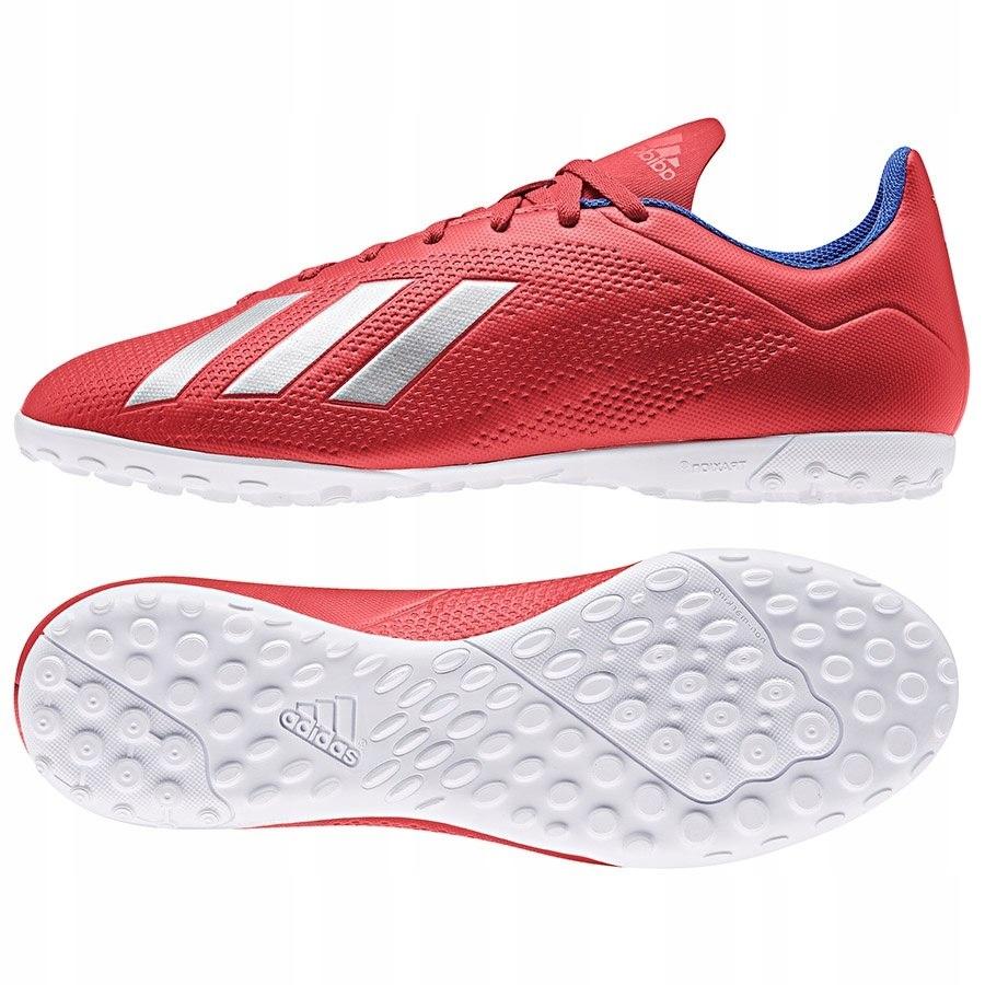 Buty adidas X 18.4 TF BB9413 czerwony 43 1/3