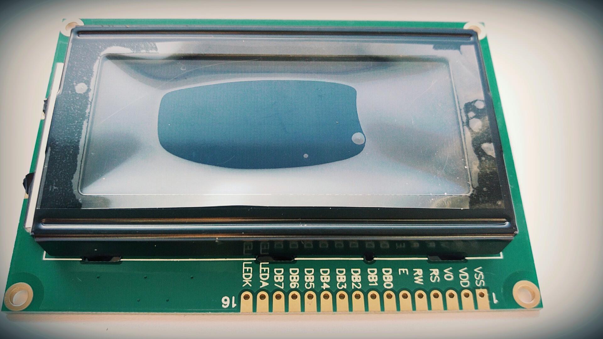 Wyświetlacz LCD 1604 BLUE podświetlenie PL FV Prom