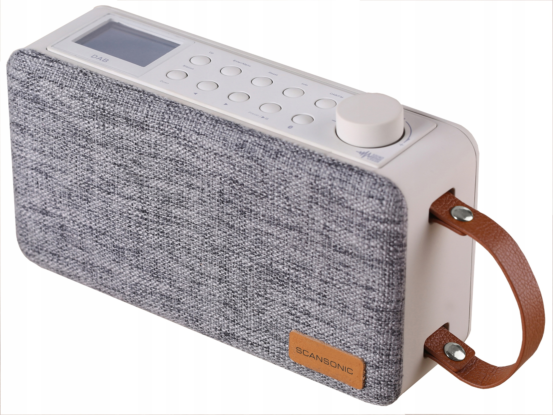 Scansonic PA6000BT Radio DAB DAB+ FM Bluetooth AKU