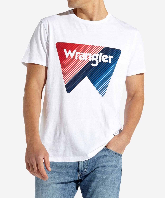 Wrangler BOX LOGO TEE W7C09FK12 White XL