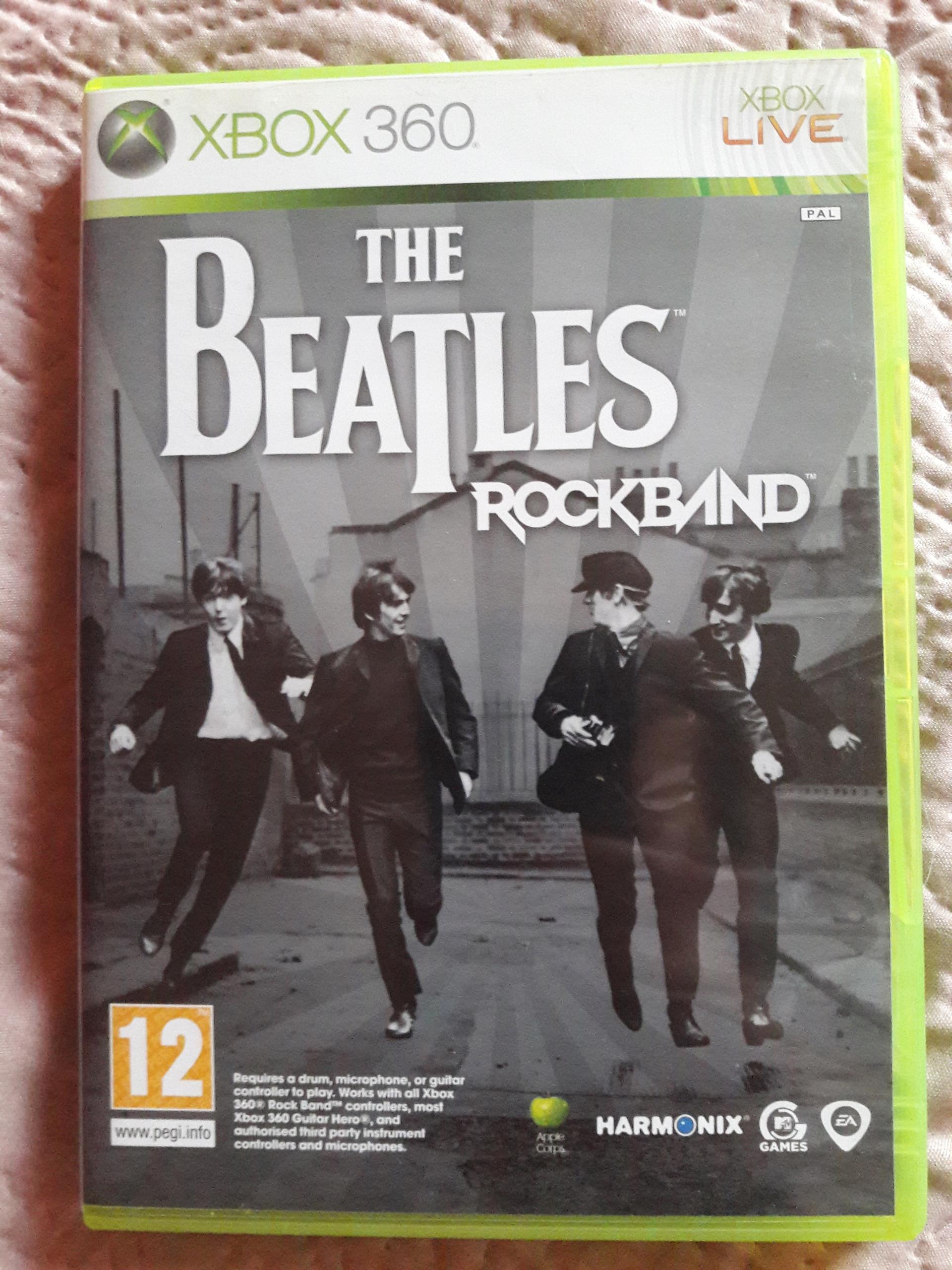 The Beatles Rockband XBOX 360