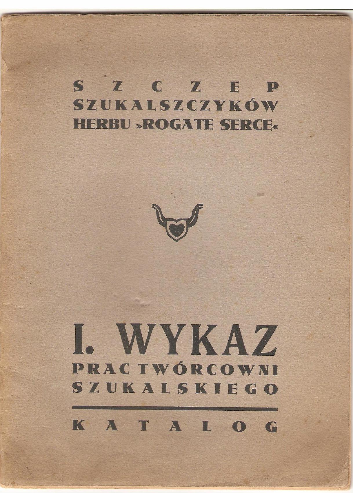 Stanisław Szukalski, I. Wykaz prac Twórcowni