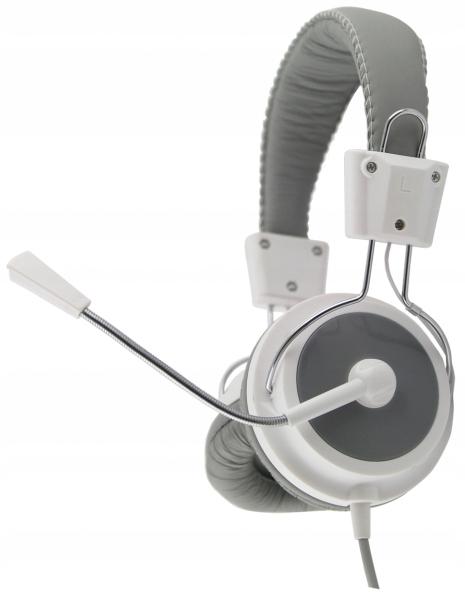 EH154W Słuchawki z mikrofonem Eagle białe