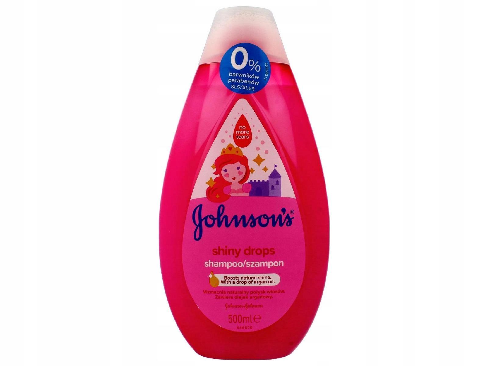 Johnson's Baby Shiny Drops Szampon do włosów 500ml