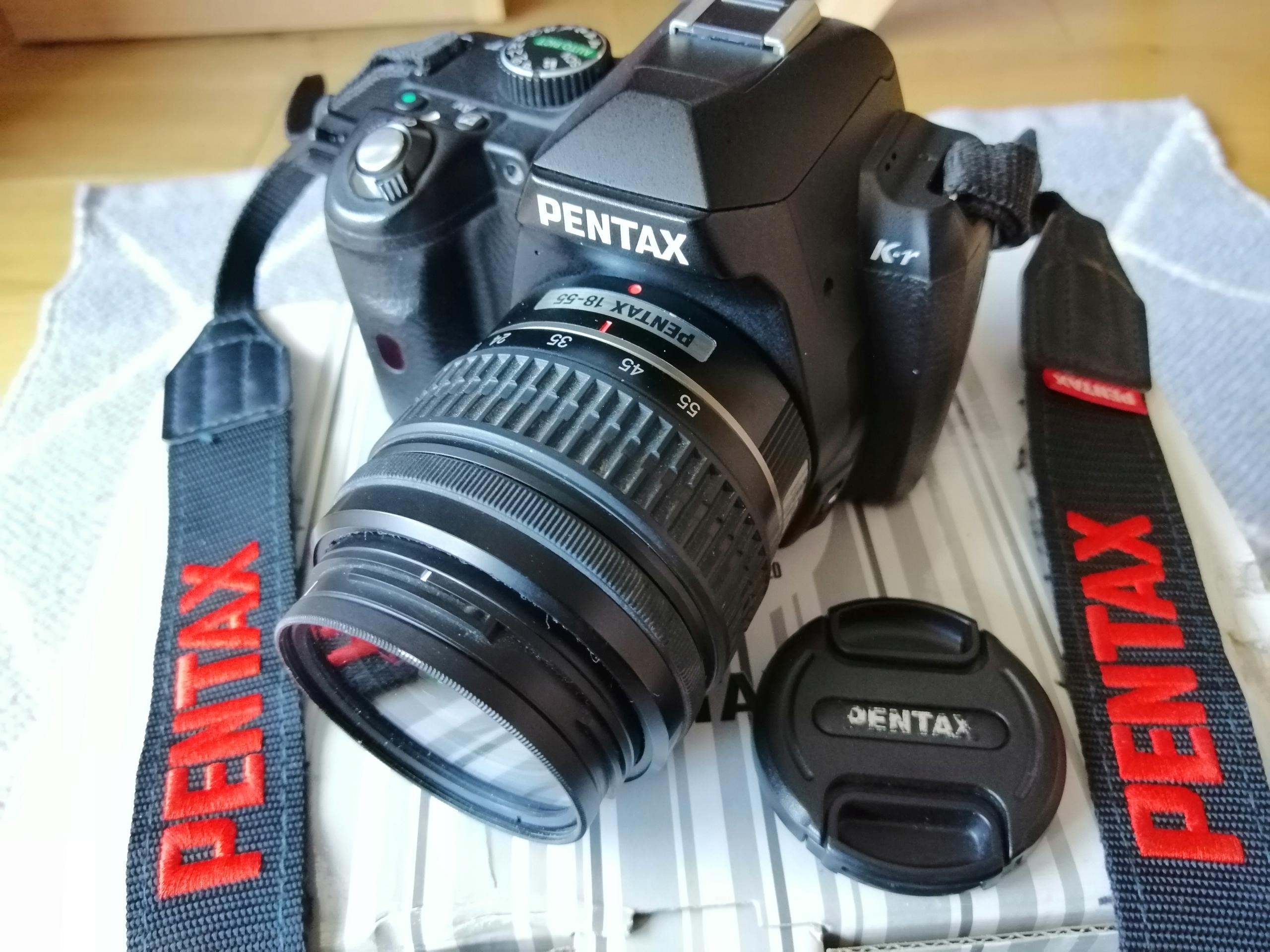 Aparat PENTAX K-R + akcesoria + kurier gratis