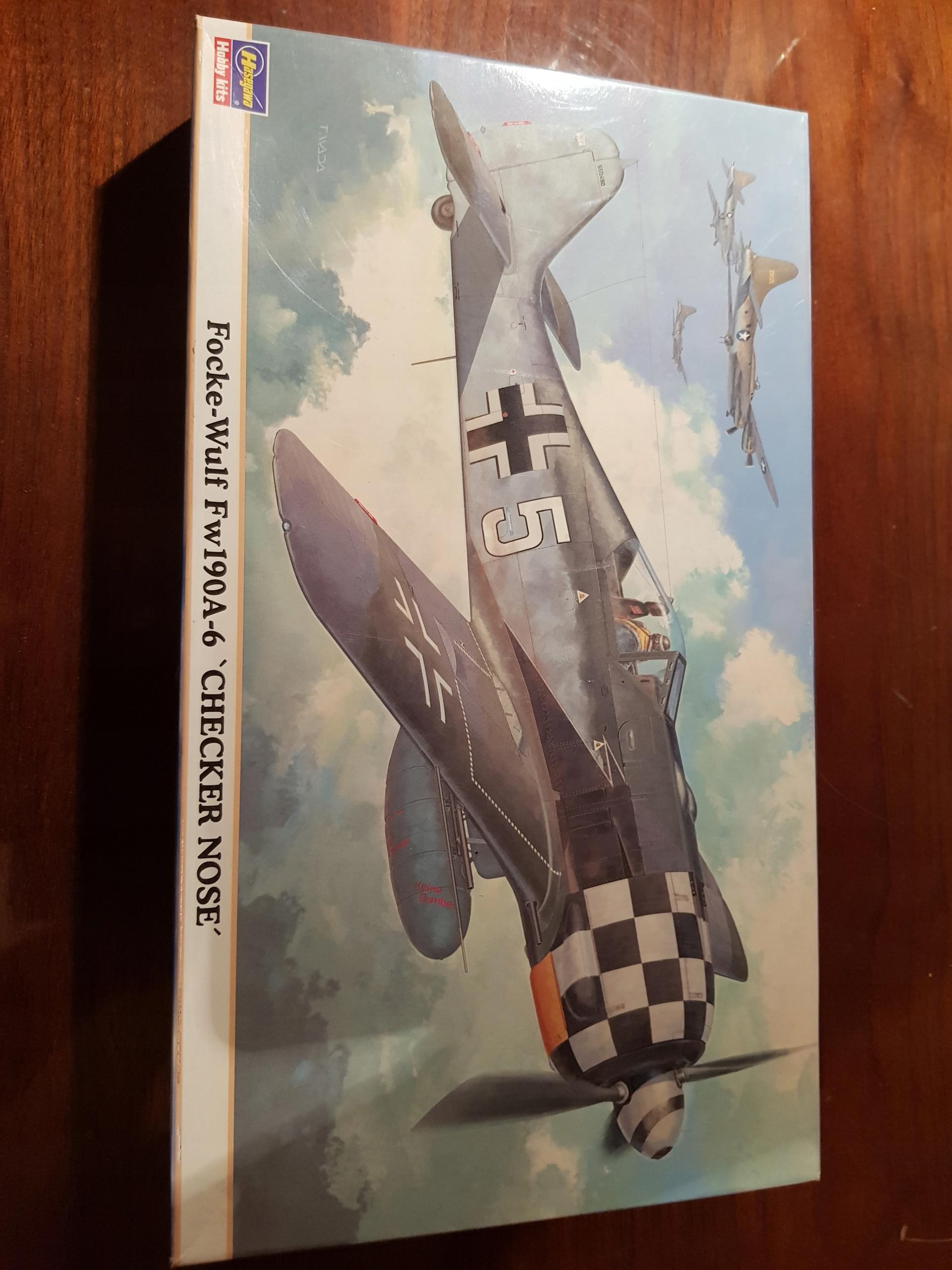 Focke Wulf Fw - 190 A - 6 ,, Checker Nose ''