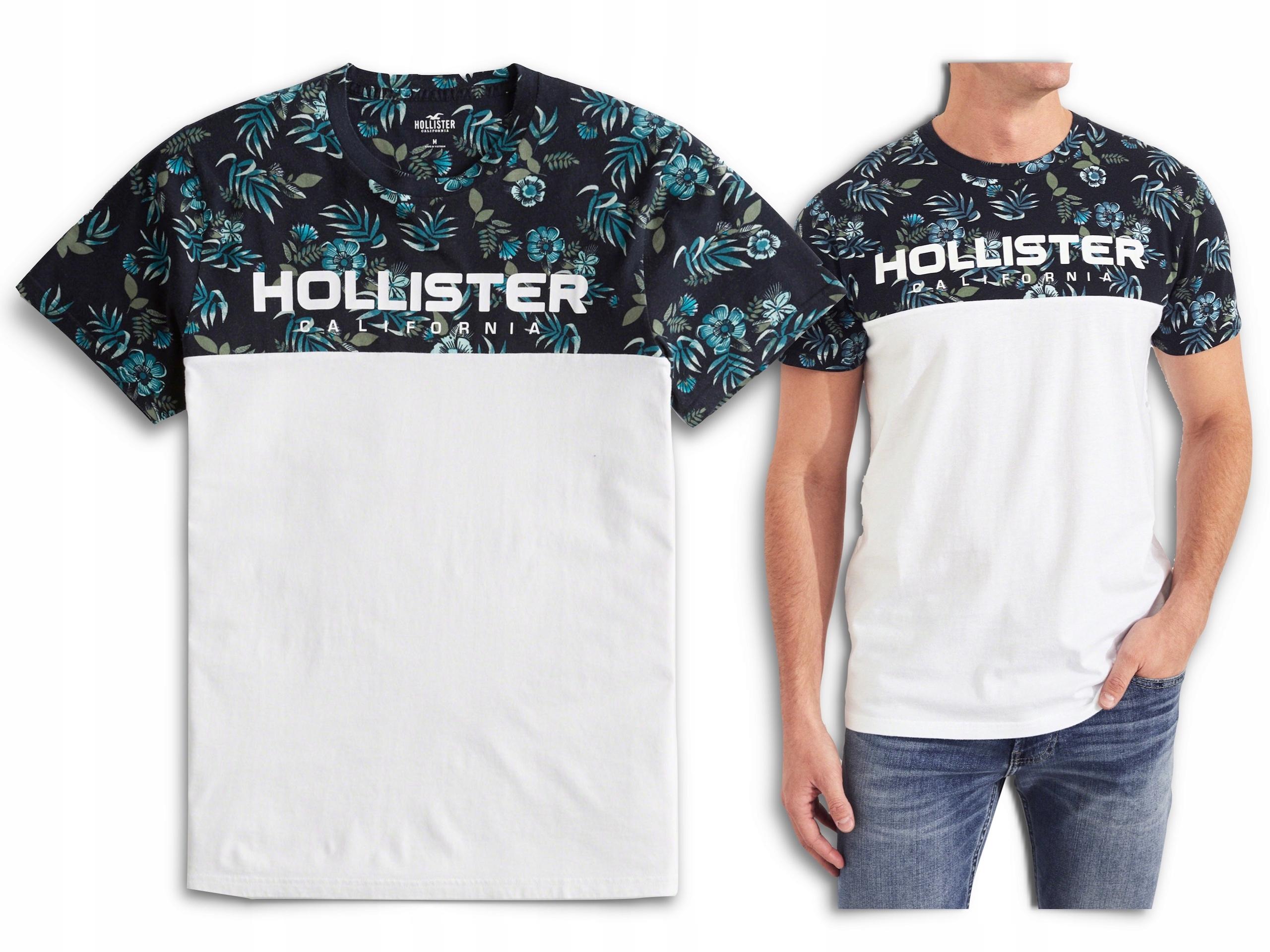 t-shirt męski HOLLISTER by Abercrombie rozmiar XL
