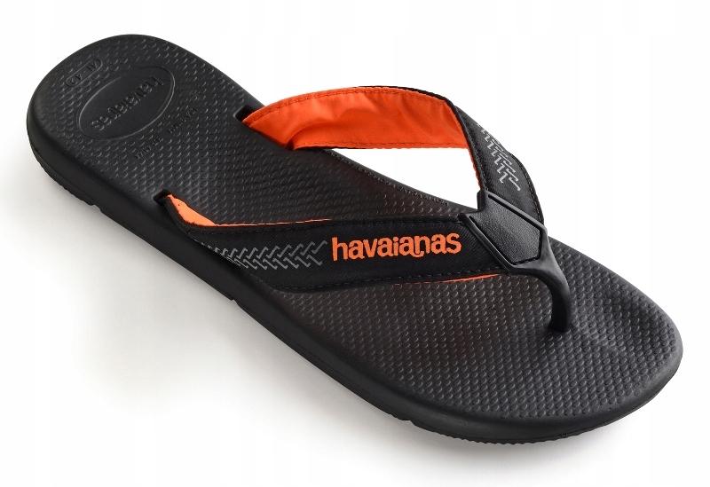 Havaianas Surf Pro 45/46 czarne klapki męskie HIT