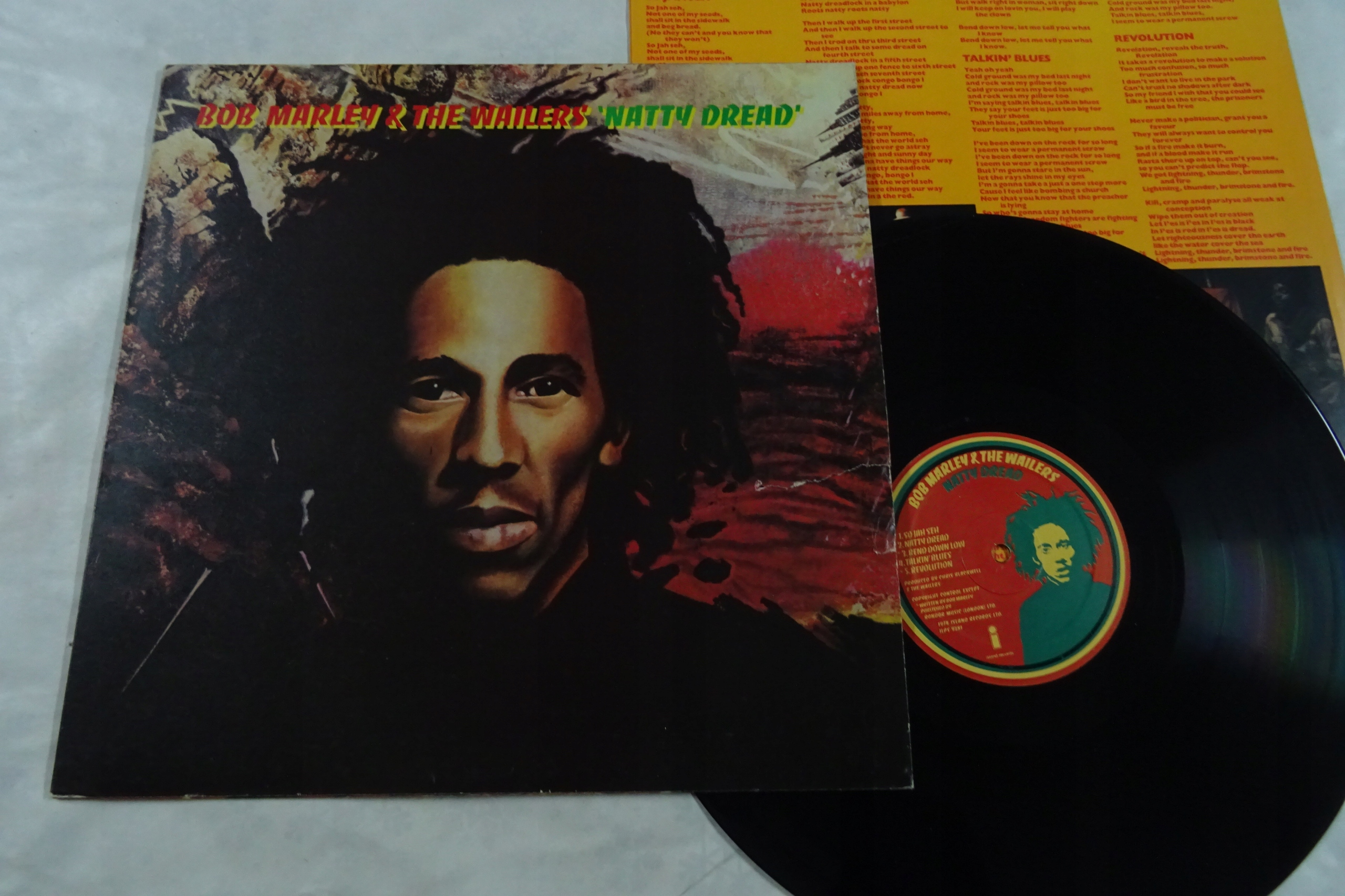 Bob Marley & The Wailers Natty Dread 257 UK