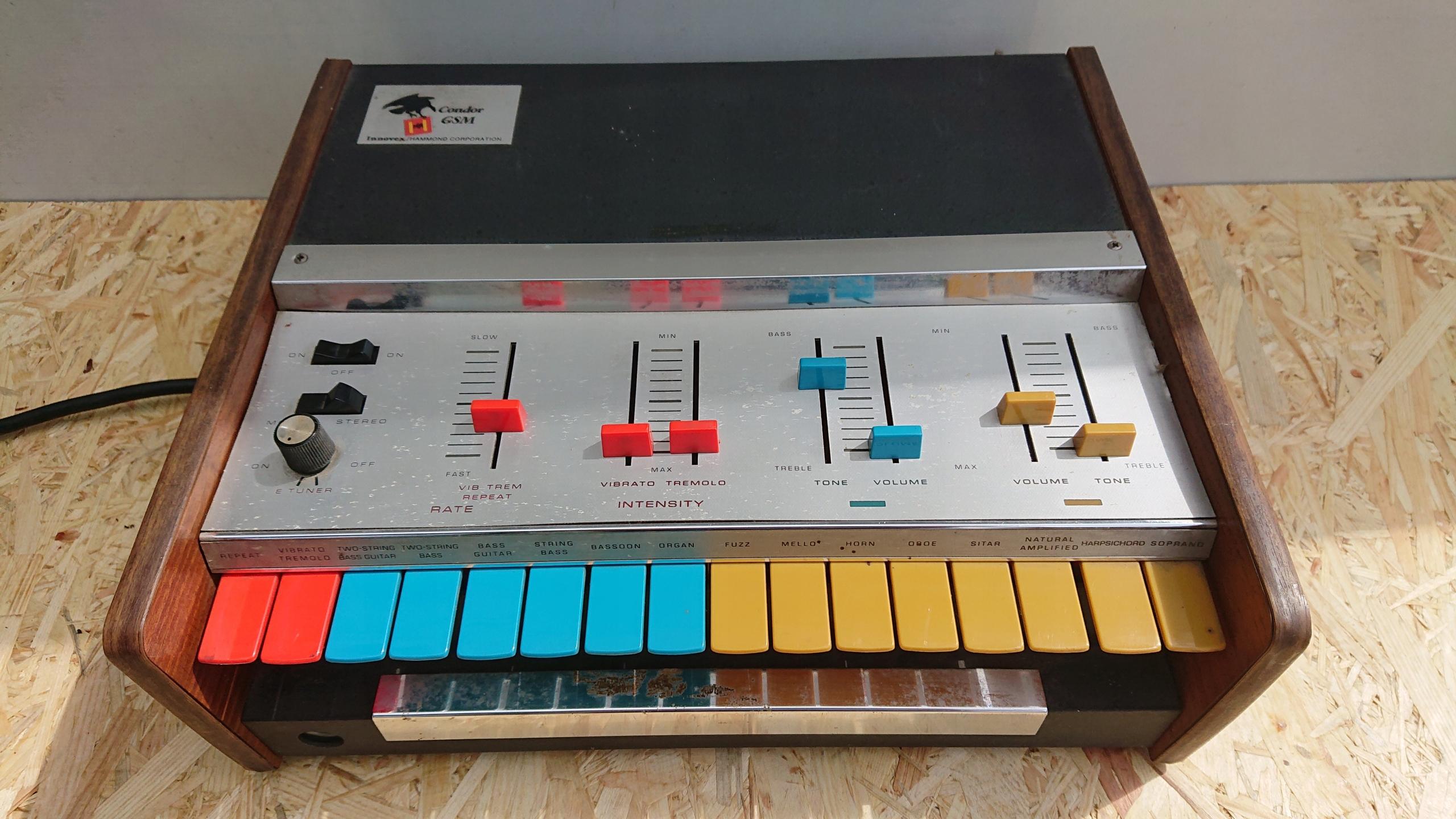 1969 Vintage Hammond Innovex Condor GSM Synth