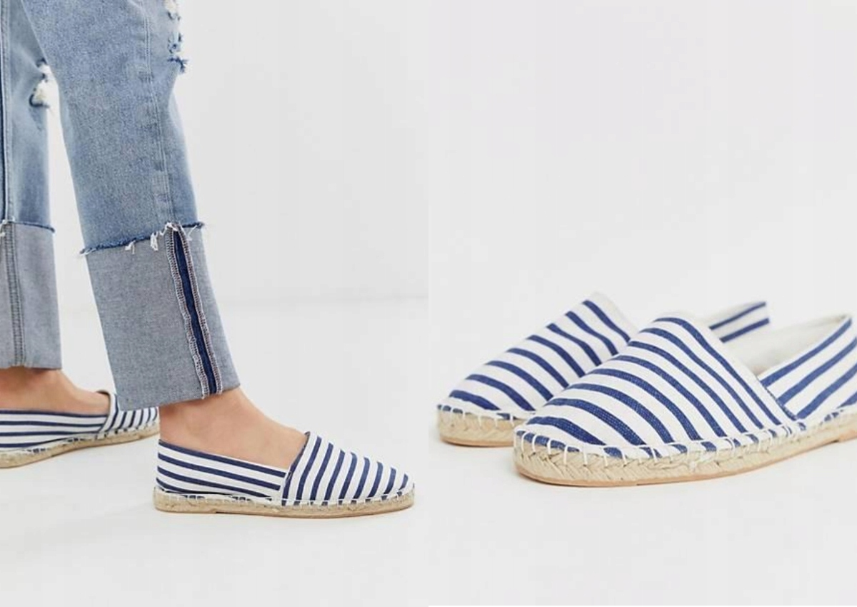 LONDON REBEL ESPADRYLE W PASKI 38