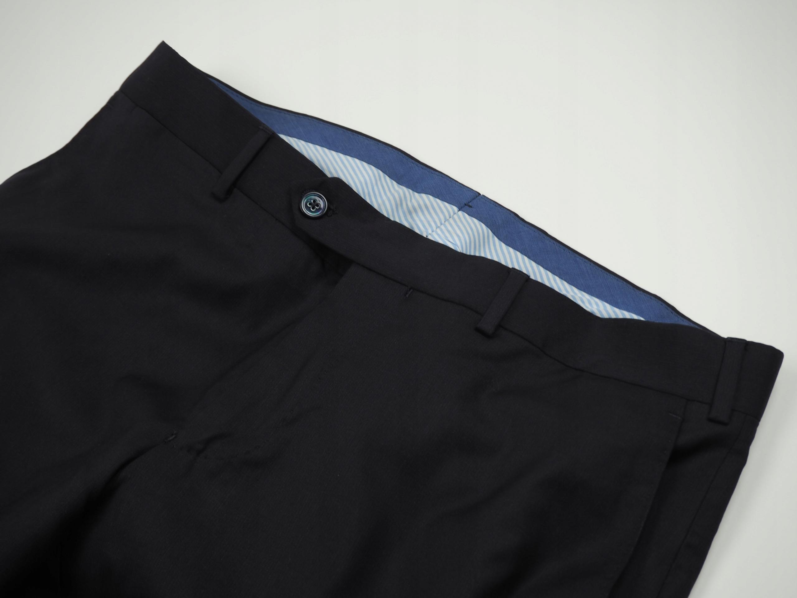 15 Massimo Dutti ekskluzywne spodnie WEŁNA 40