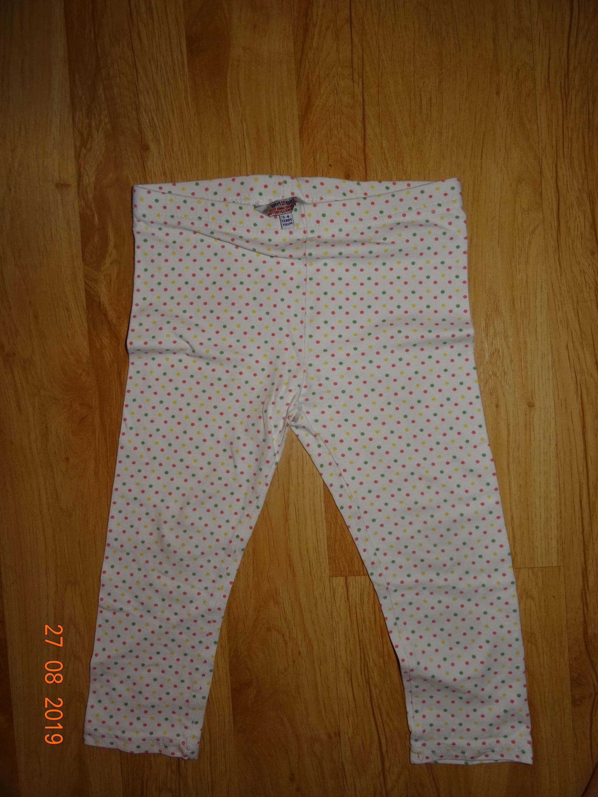 Getry Girl2Girl 3/4 116 4-6 lat w kropki, piżama