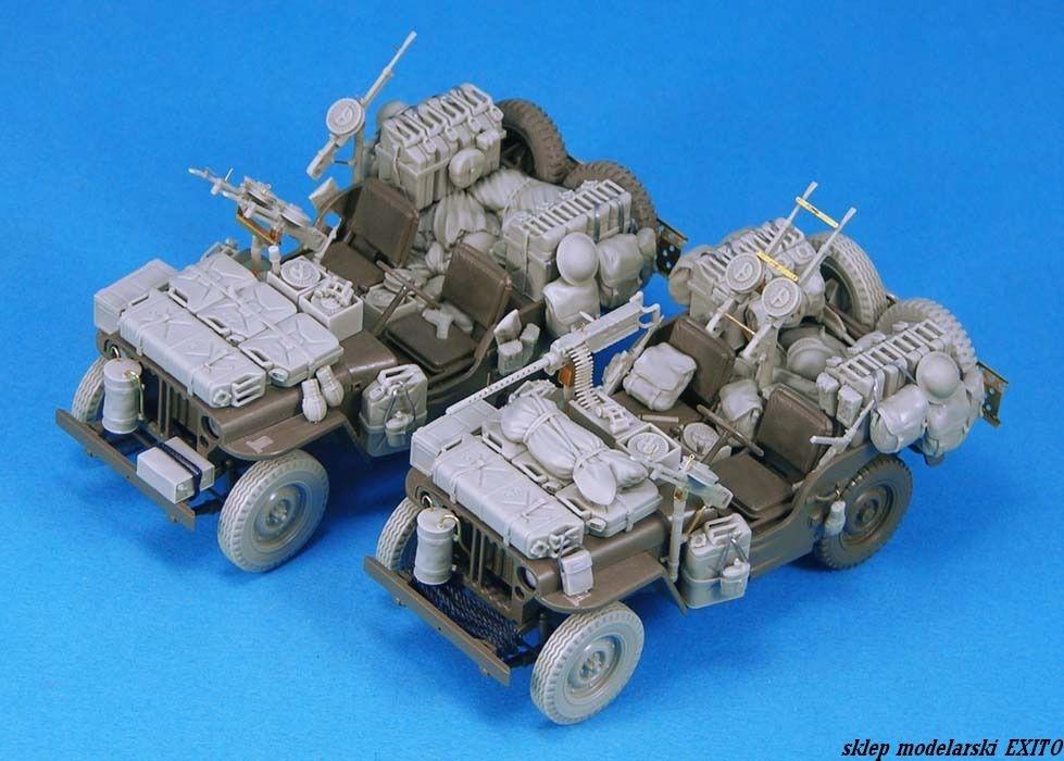 LEGEND LF1233 - 1:35 SAS Jeep Conversion set