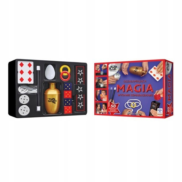 Sztuczki magiczne Hanky Panky 50 sztuczek