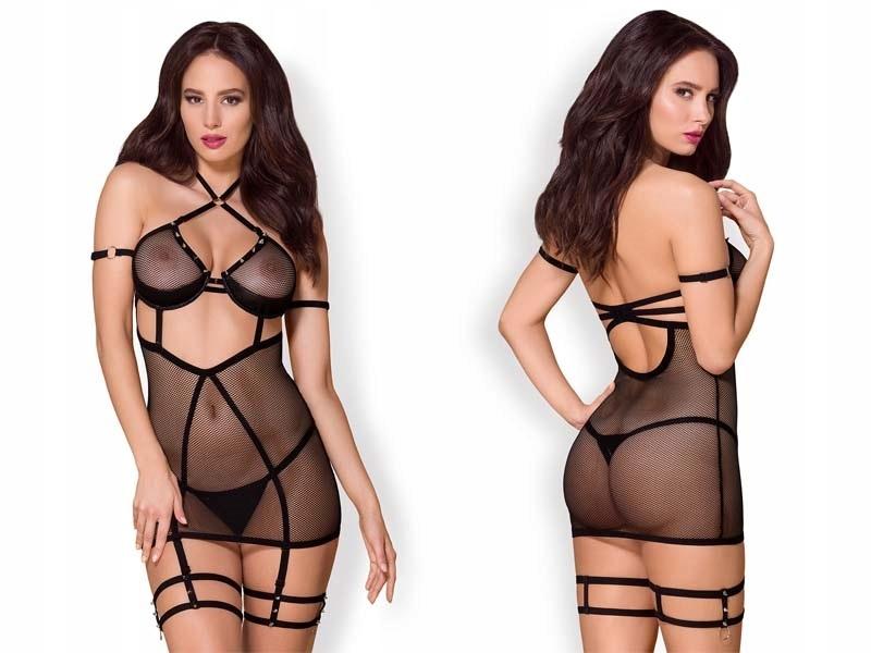Seksowna koszulka i stringi bielizna erotyczna