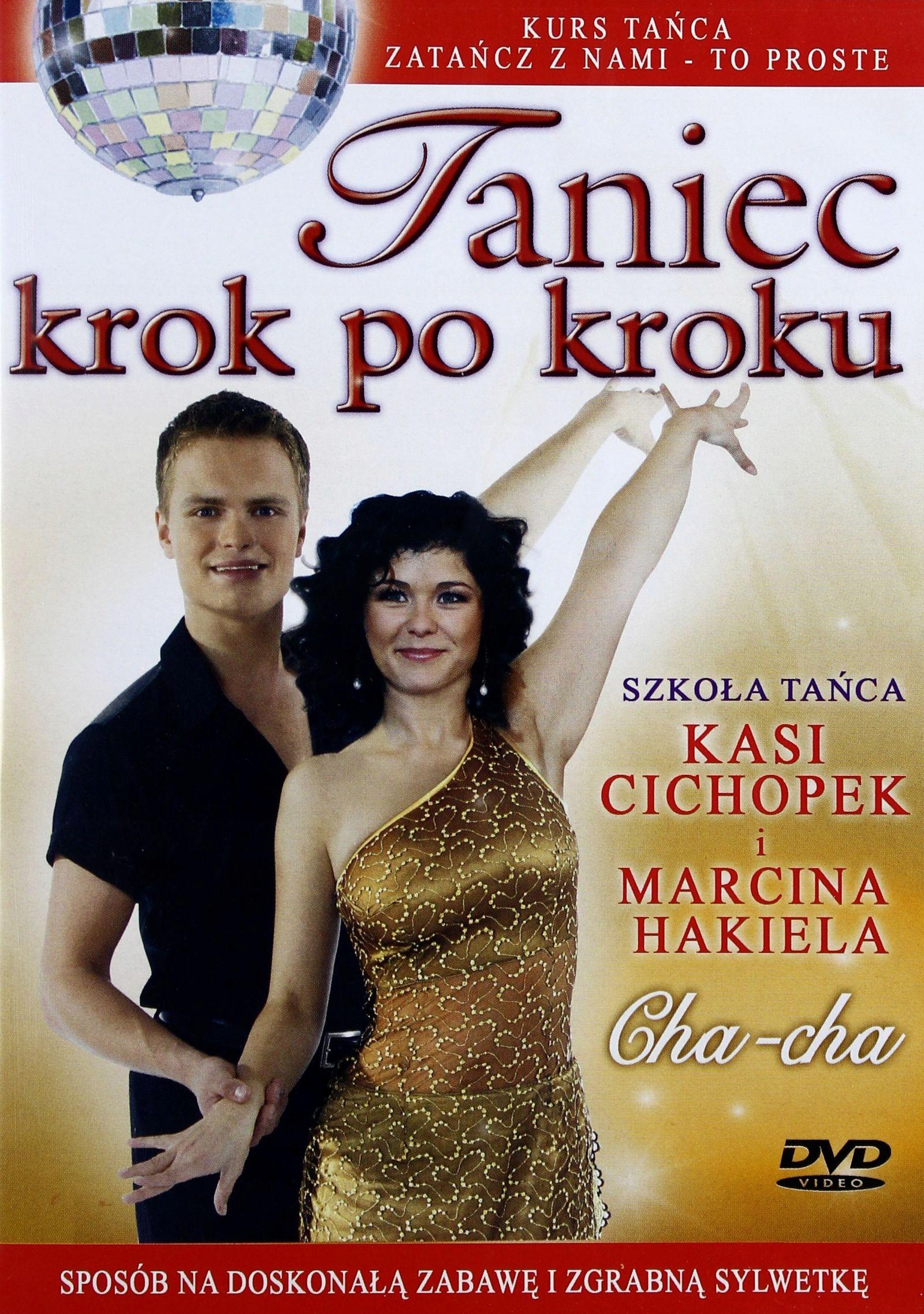 [DVD] TANIEC KROK PO KROKU: CHA - CHA (folia)