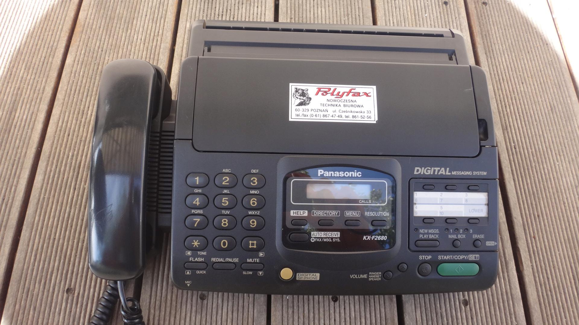 Fax Panasonic - KX-F2680