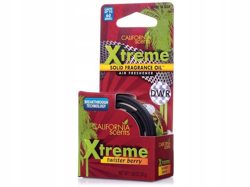 Zapach California Scents Xtreme Twister Berry