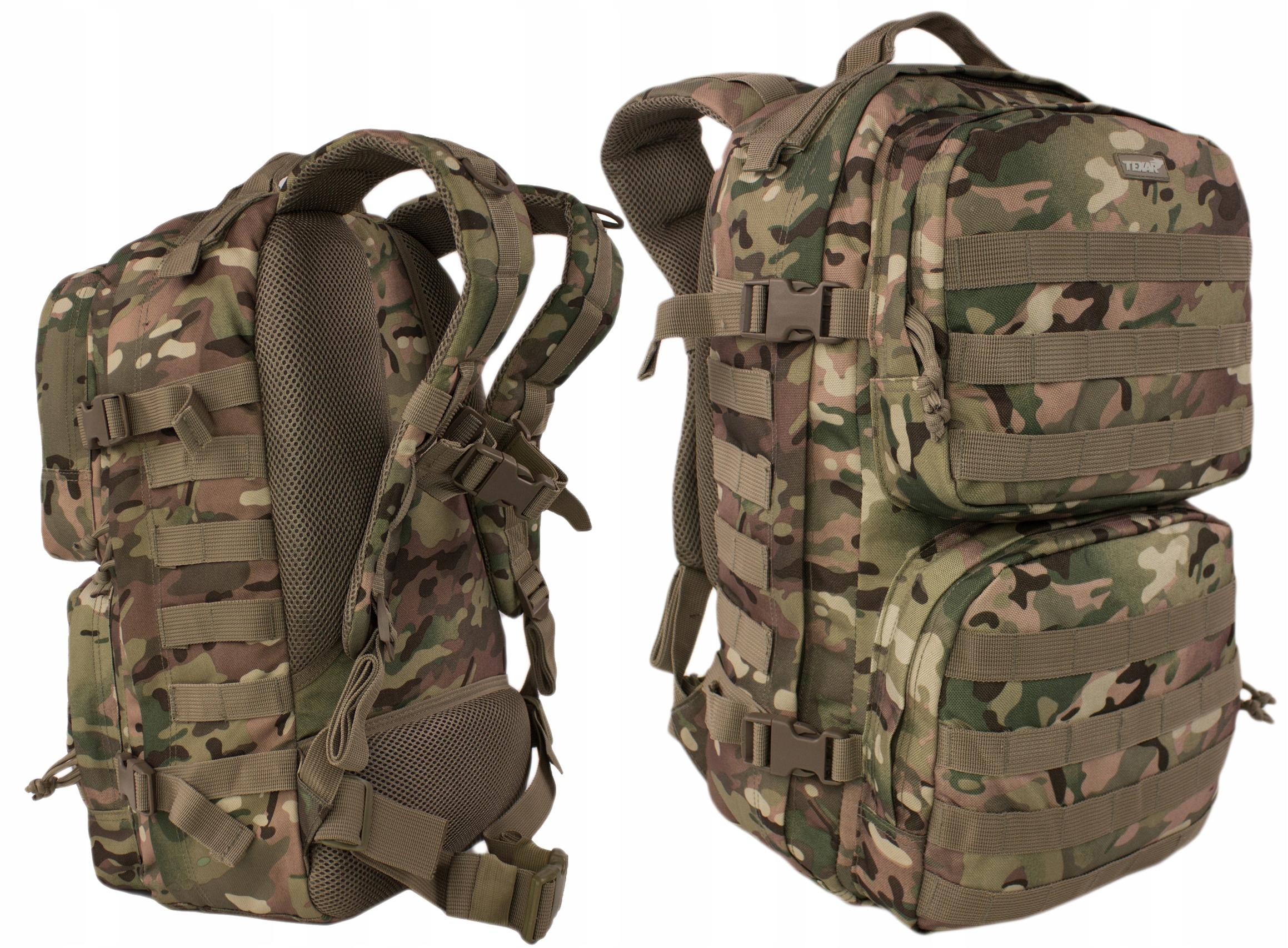 Wojskowy Plecak Taktyczny Texar SCOUT Mc-Camo 35L