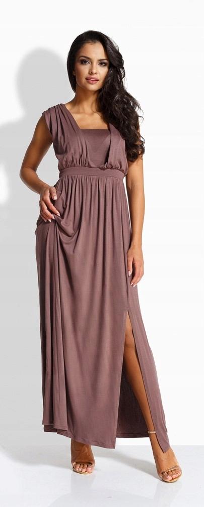 70bd8ff8d1 Elegancka sukienka ciążowa maxi 2XL 3XL KOLORY - 7496095120 ...