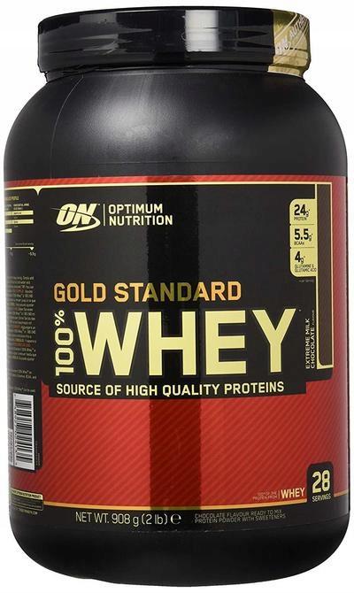 OPTIMUM NUTRITION GOLD STANDARD WHEY 908g