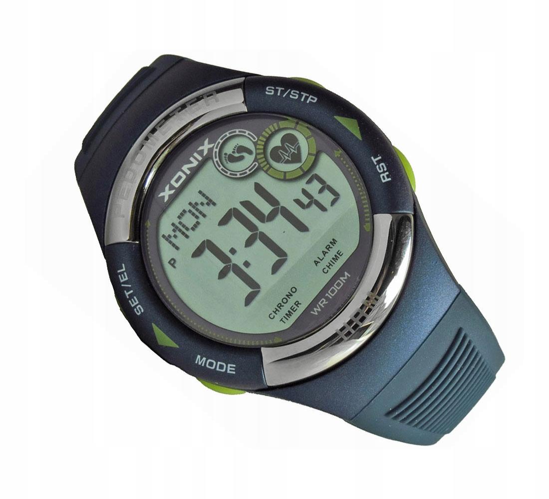 Zegarek XONIX HRM3-004 pulsometr / krokomierz
