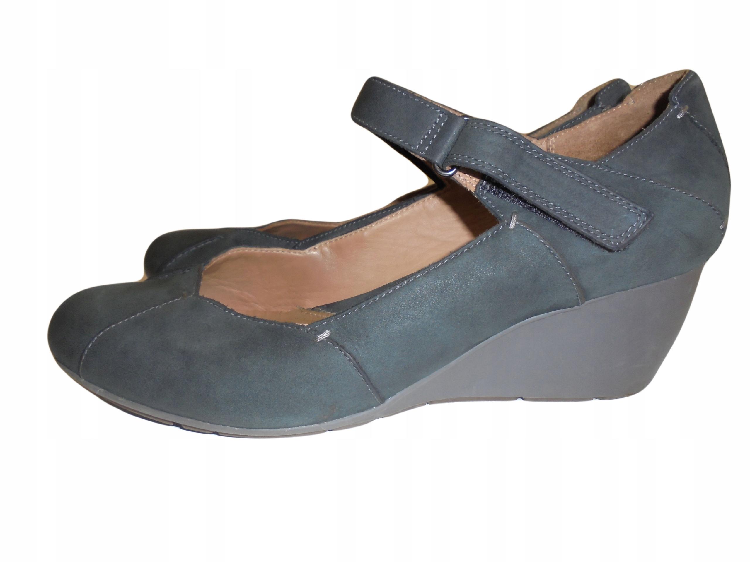 Skórzane buty firmy Clarks. Rozmiar 44.