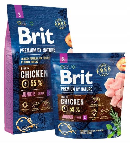 BRIT Premium By Nature S Junior 3 kg
