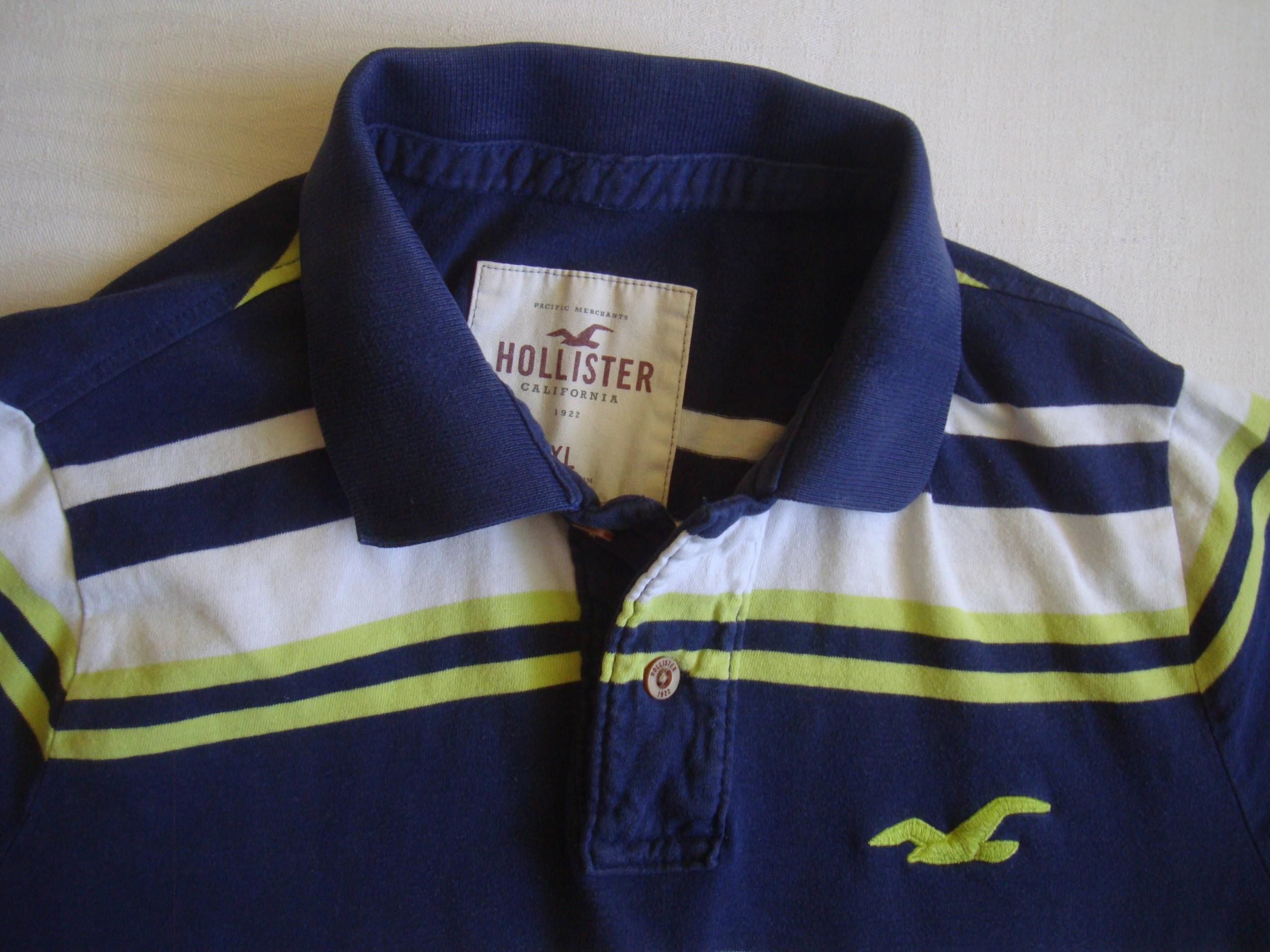 Hollister koszulka polo rozmiar (XL)