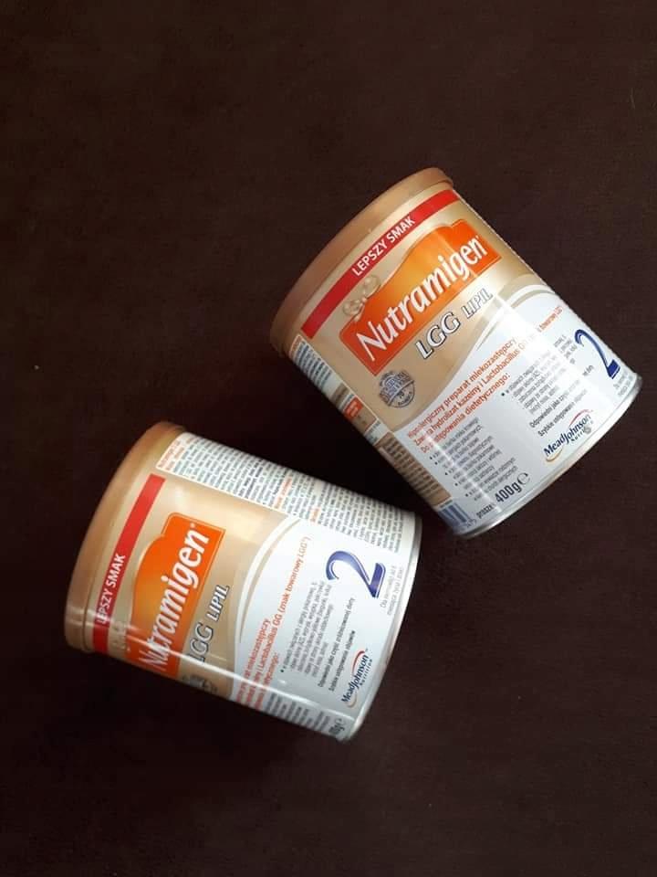Mleko modyfikowane nutramigen 2
