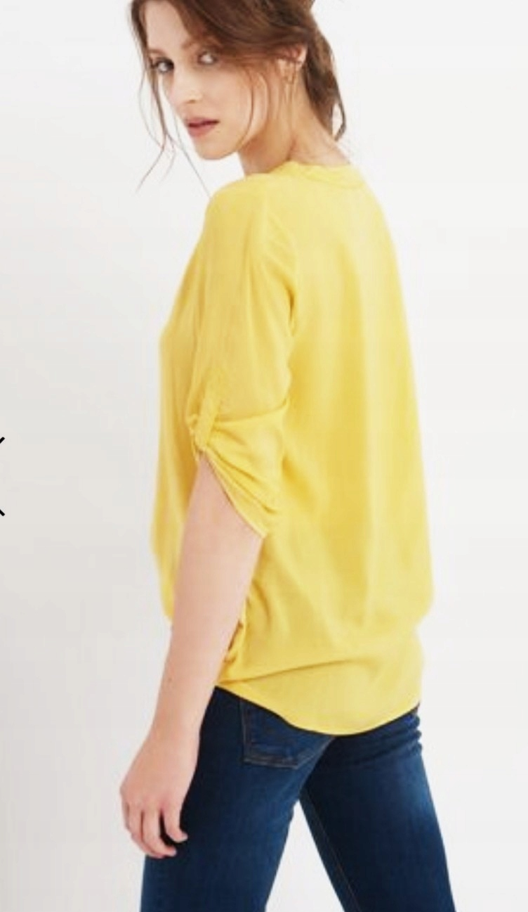 Orsay bluzka żółta 34 sale jak nowa kanarkowa