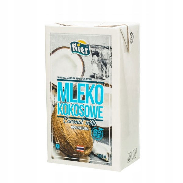 KIER Mleko kokosowe 1000 ml - Coconut milk